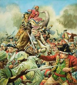 to show battle of buxar