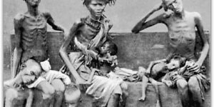 To show famines of Bengal