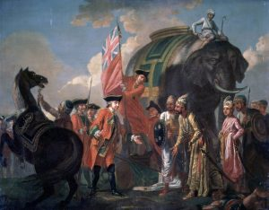 For sowing Battle of Plassey