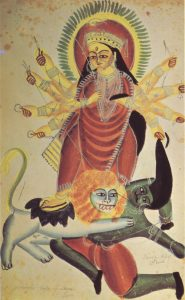 to show kalighat painting