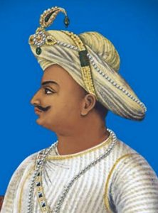 For showing Tipu Sultan