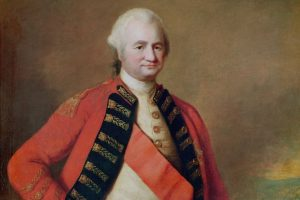 To show Robert Clive