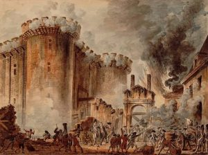 A depiction of French Revolution