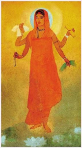 (Bharat Mata by Abanindranath Tagore, source: Wikipedia)