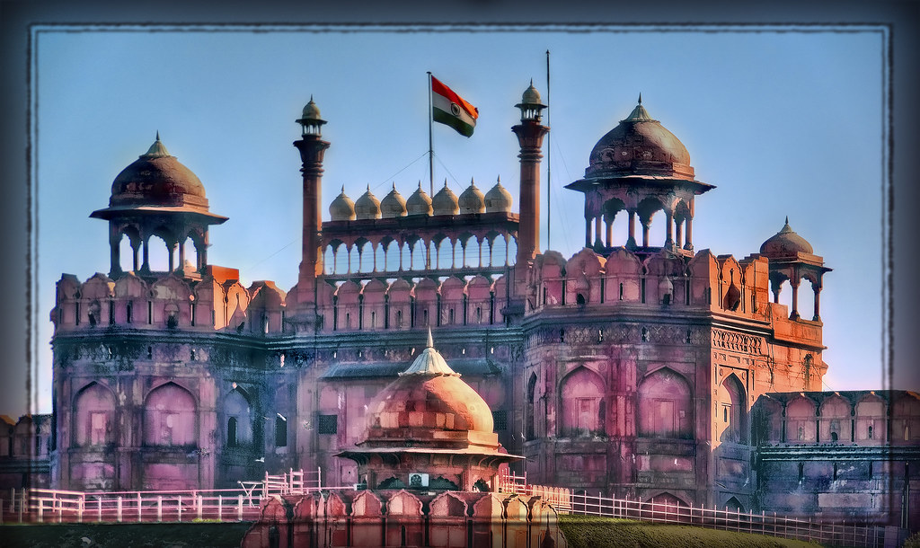 Red Fort By Mughal Emperor Shah Jahan